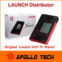 [Launch Distributor] Original Launch X431 IV Master Version Free Internet Update with printer + Gift MV400 digital videoscope