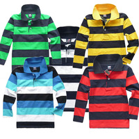 Children  Shirts New Autumn 2013 Kids Boys Fashion Top  Long-sleeve Turn-down Collar Girls Tops & Shirt