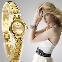 2015 New Luxury Brand Gold Watches Top Quality Quartz Bracelet Watch Oval Dail Women Dress watches WristWatches Relogio feminino