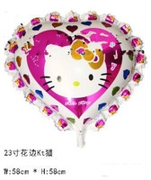 50 PCS 23 inches heart-shaped cartoon series of helium balloon inflated balloon wedding decoration  children toys
