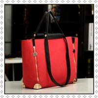 New 2014 Fashion Women Messenger Bags Desigual Brand Leather Shoulder Bag Scrub Tote  Vintage Women Handbag WB2041