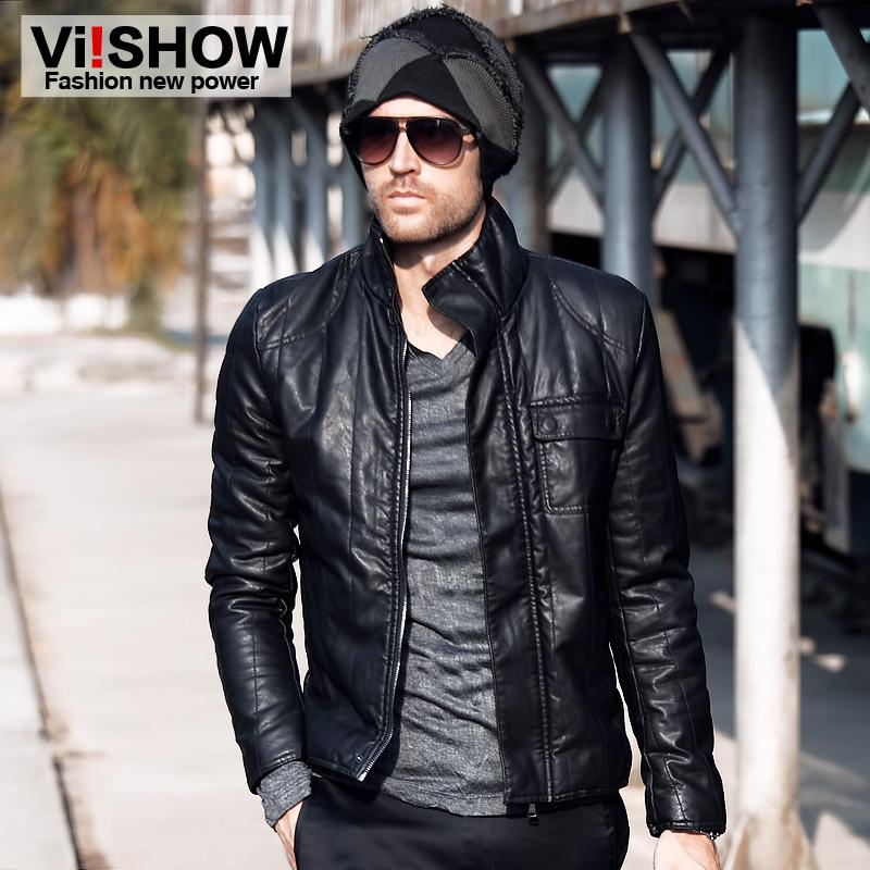 Jacket Leather Mens