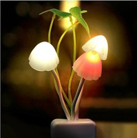 Colorful fantastic Avatar Mushroom wall LED Night Light simulate Nature environment for good sleeping for children kids family