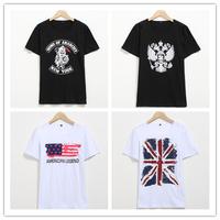 Sons OF Anarchy men t shirt, new 2013 fashion t shirt for men.lim fit casual shirt ,cotton men's faction t-shirt rock  xxxl
