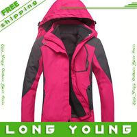 2013 women's sport suit waterproof Quick Dry  womens winter jackets warm windcheater women snowboard jackets,free shipping