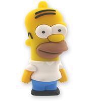 UFD0197 wholesale&retail freeshipping(>US$5)  Homer Simpons cartoon The Simpsons Gift USB Flash Drive hotsale USB Disk  4GB-64GB