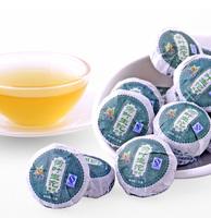 Superfine Lotus Leaf Flavor Xinyihao Brand Mini Tuo Raw Pu'Erh Slimming Women'S Personal Care Beauty Chinese Tea Green Food