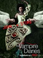 Freeshipping 20pc a lot Vampire Diary the Originals Family Bonnie Bennett Almandine Garnet Silver Talisman Necklace  XXA01