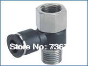 PHF6-03 tube size 6mm ,thread 3/8 Pneumatic fittings, plastic material push in type, one touch in fittings