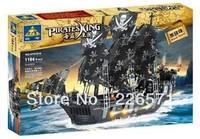 *Black Pearl - Pirate in Caribbean * DIY enlighten block brick sets, Pirate series toys