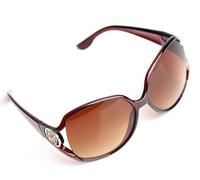5729 Min order $10 (mix order) free shipping sunglasses new style fashion retro  graduated polarized super elegant sunglasses