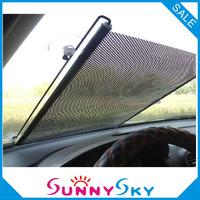 FREE SHIPPING 40*125CM Sun Shade,Sunshade Visor Shield Screen Front Window Car Sun Protection Curtain+PVC