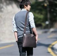 2013 new hot sell male canvas Handbags casual men shoulder messenger bag