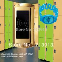 Free Shipping RFID Digital  Swimming Sports bath gym locker  locks
