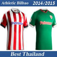 Athletic Bilbao 14 15 Soccer Jersey Best Thai Quality Home Away Shirt Soccer Uniform