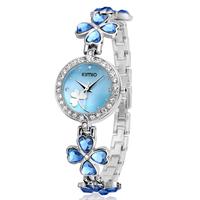 Kimio Women Quartz Watch/ Ladies Bracelet Watches / Fashion Rhinestone Hours 2014 New  K456L