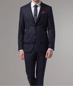 custom made חליפת אופנה גברים 100% חליפות צמר לגברים 33