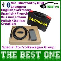 Professional Diagnostic Scanner VAS5054A VAS 5054A V19 Bluetooth Interface VAS5054 ODIS V2.0 Support UDS+All OBD Vehicle System