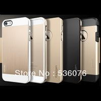1pcs SPIGEN SGP Touch Armor cover case for iphone 5 5s gold