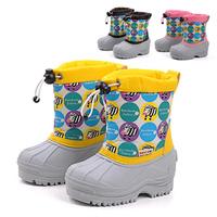 Children Boots Snow Winproof Rubber Autumn Winter Girls Boys Kids Baby Star Zebra Chaussure Enfant Sport Wedge Shoes Sneaker