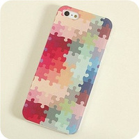 Free shipping new arrival plastic colored drawing cover for i phone 5 cases for apple iphone 5G 5S