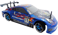 Christmas gift ! HSP baja 94123 4WD 1/10 BRUSH Scale Electric Power On-Road Drifting Rc Car  RTR+Free shipping l