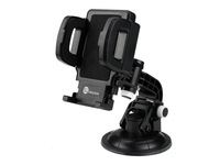 TaoTronics TT-SH03 Car Mount Cradle Kit Mobile Phone Holder Support Stand for iPhone 5 4S 4 iPod,Samsung Galaxy S4 S3,GPS,Black