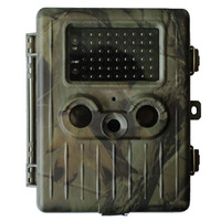12MP infrared DVR 940NM Black IR hunting trail camera with 2000mAh rechargeable battery  (without mms) Free Shipping