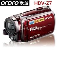 "Ordro HDV-Z7 720P HD digital video camera 3.0"" Touch screen 10X Digital zoom 16MP Digital Camera Free Shipping"