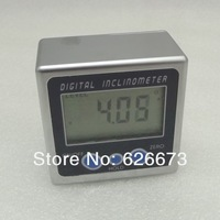 free shipping Electronic digital inclinometer inclinometer level meter horizontal angle angle ruler ruler with magnetic
