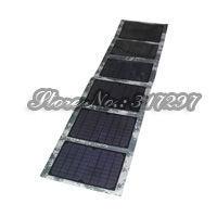 60W Solar Power Kit 60 watt Folding Monocrystalline Solar Panels +10A Regulator Controller 12V+12V Car Battery/Laptop Charger