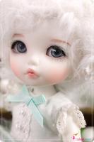 1/8 bjd doll bb pukifee ante free eyes and makeup  bjd sd doll 1/8 lovely DIY doll  Free shipping