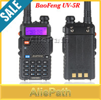 2SET BaoFeng UV-5R Dual Band Transceiver 136-174Mhz & 400-480Mhz Two Way Radio Walkie Talkie with 1800mAH Battery free earphone