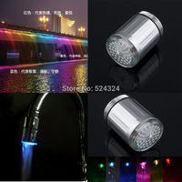 1pcs 7 Colors Light Changing Glow LED Water Faucet Shower Tap