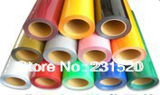 One Roll PU heat transfer film 0.5mx25M Made in South Korea high quality Choose from 27 colors For T-shirt print