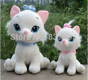 Dolls & Stuffed Plush Marie cat Animal toy , Children's gifts,2015 Hot Sale,Retail & Wholesale Free Shippiing(China (Mainland))