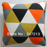 "Colorful modern brief throw pillow cover home car decoration cushion case 18""x18"""