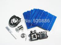 Hot* DIY solar panel kit 40- 6x6 solar cell +tab bus +flux pen +j-box wire, free shipping