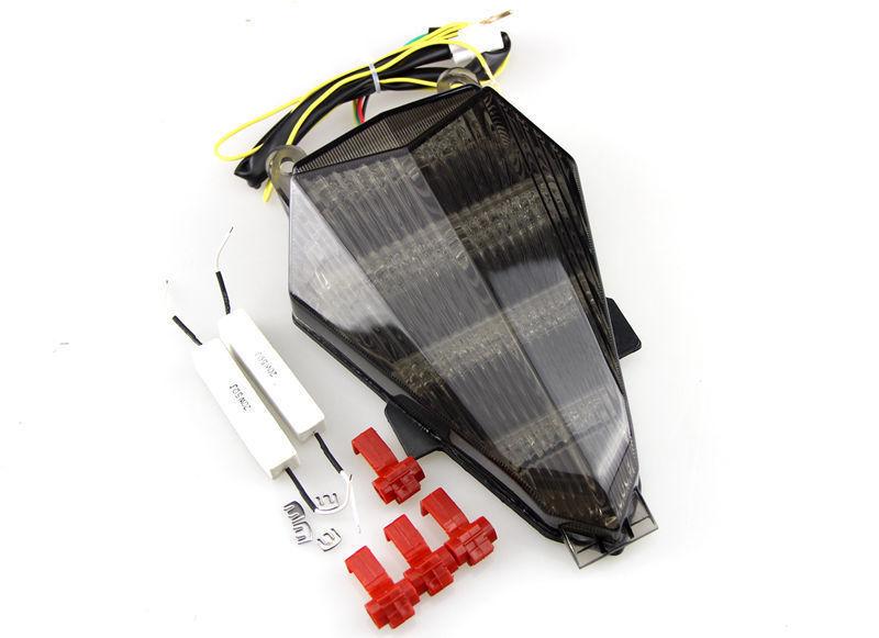 Motorcycle Smoke Integrated LED Tail Light Signals For YAMAHA YZF R6 2006 2007 2008 2009 2010 2011 smoke(China (Mainland))