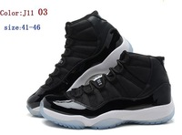 Hot!High Quality J 11 basketball shoes men Training shoes Size:41-46 accept mix order 2013 free shipping!