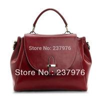 2013 NEW genuine leather shoulder bag Europe retro vintage college style leather handbags Messenger Portable handbag