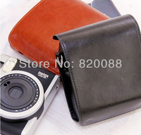 Free shipping new Fujifilm Instax Mini 90 Camera Leather Case Bag with Shoulder Strap