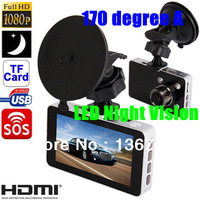 "Car DVR Recorder OriginalG2W With G-Sensor & HDMI  + Full HD 1080P Car Camera  + H.264 + 3.0"" LCD + Complete Package!"