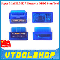 Newest V2.1 Super Mini ELM327 Bluetooth OBD2 Scanner ELM 327 Bluetooth For Multi-brands CANBUS Supports All OBD2 Model