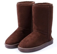 Free shipping 2013 winter warm high long snow boots ,warm fur inside women's shoes,winter women boots long,size 36-41, XWX314