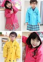 Fashion Cartoon Waterproof Kids Rainsuit Baby Poncho Child Rainwear Children's Raincoat