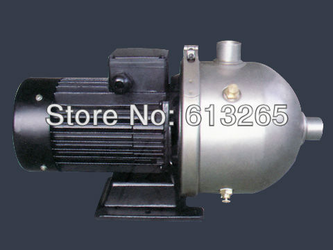 CHL4-30 stainless steel horizontal multi stage pump /booster pump /high pressure water pump-FREE SHIPPING(China (Mainland))