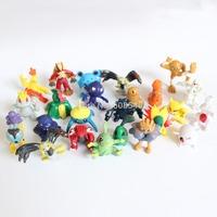 24Pcs Cute Pokemon Pikachu Monster Mini figures toys lot 2-3cm in Random AE00090
