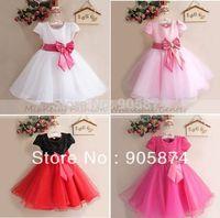 2014 Fashion children party dress,lace tutu ballet princess dress,kids clothing,baby girls Wedding Bridesmaid Dresses 0-4 year