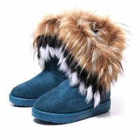 2013 Winter Explosion Models Sold Snow Boots For Women Fashion And Keep Warm Thicken Cotton Boots Warm Shoes MS0062